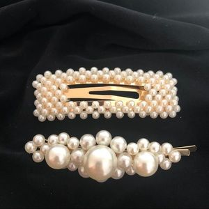 Accessories - 💫Pair of Pearl Hair Clips